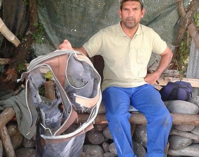 Johnny Begue, el hombre de Isla de la Reunión que halló partes de un...
