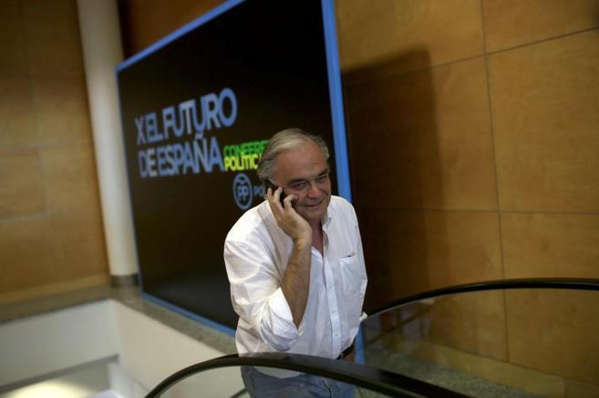 Esteban González Pons en la conferencia política del PP el pasado 10...