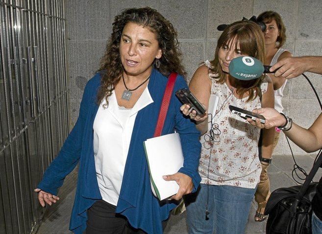 La directora general de Minas, María José Asensio, uno de los cargos...