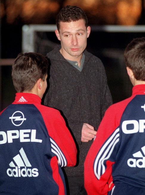 Stephan Beckenbauer, como técnico del filial del Bayern en 1998.