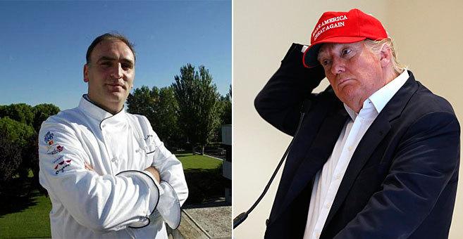 José Andrés y Donald Trump.
