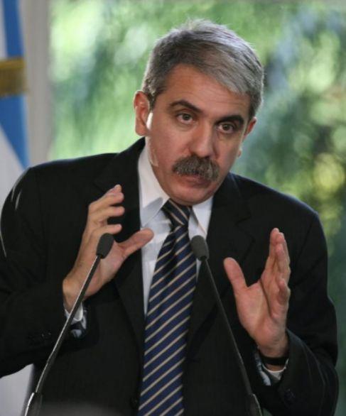 Aníbal Fernández, jefe del gabinete de Kirchner.