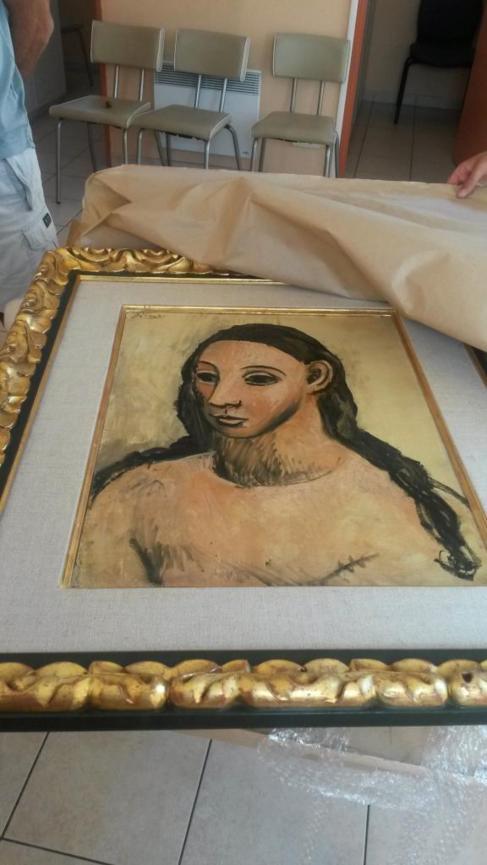 El cuadro de Picasso incautado, 'Cabeza de una Mujer Joven'.