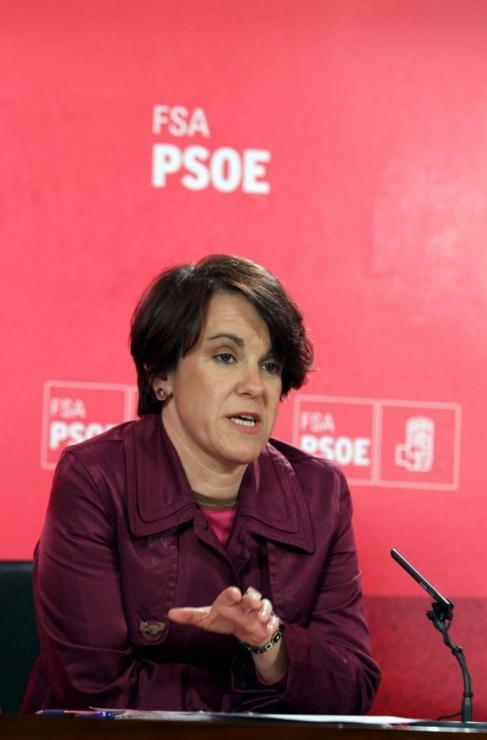 Purificación Causapié, nueva portavoz socialista en el Ayuntamiento...