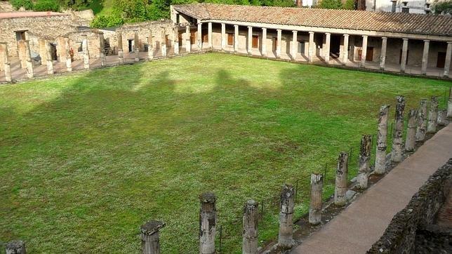 El yacimiento arqueológico de Pompeya, en el sur de Italia.