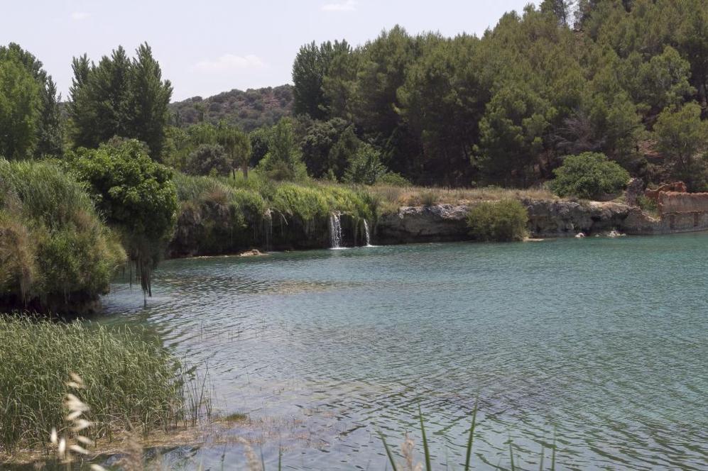 El oasis de La Mancha brota en Ruidera para refrescar a reporteros y...