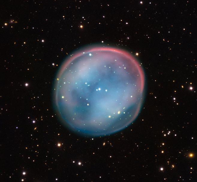 Imagen de la nebulosa ESO 378-1 captada por el Very Telescope de la...