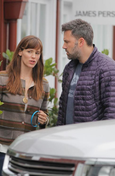 <strong>Ben Affleck (42) y Jennifer Garner (43):</strong> Después de...