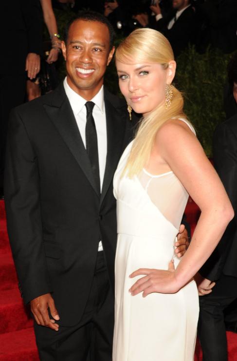 <strong>Tiger Woods (39) y Lindsey Vonn (30):</strong> El golfista...