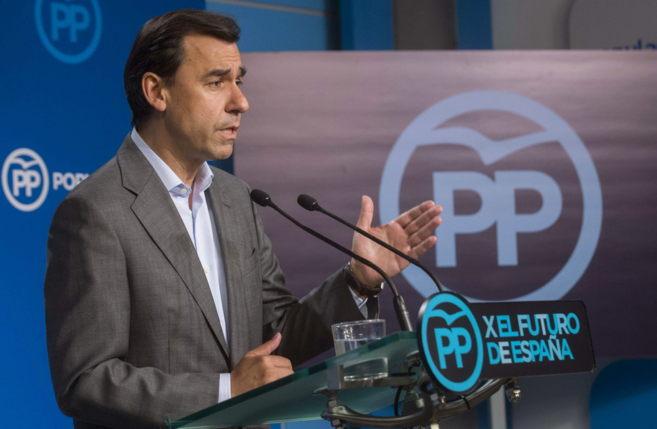 El vicesecretario de Organización del Partido Popular, Fernando...