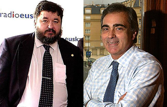 Iñigo Camino y Juan Cruz Nieves.