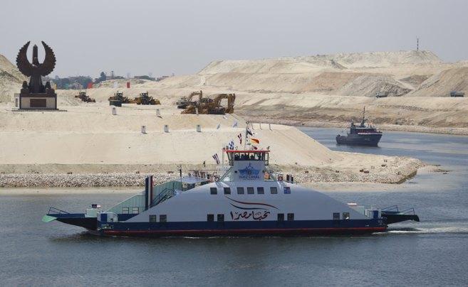 Los sin techo del 'nuevo' Canal de Suez