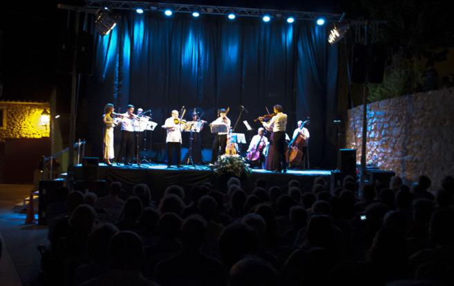 Uno de los conciertos de Orfim, Oropesa del Mar.