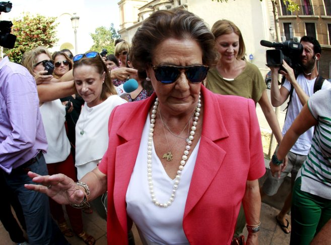 Rita Barberá en una imagen reciente de El Mundo