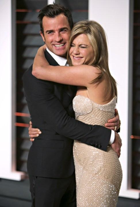 Jennifer Aniston y Justin Theroux, en la fiesta de Vanity Fair de este...