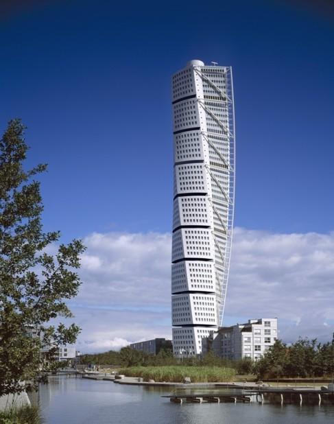 El edificio Turning Torso.