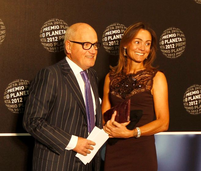 La pareja, en la gala de los Premios Planeta