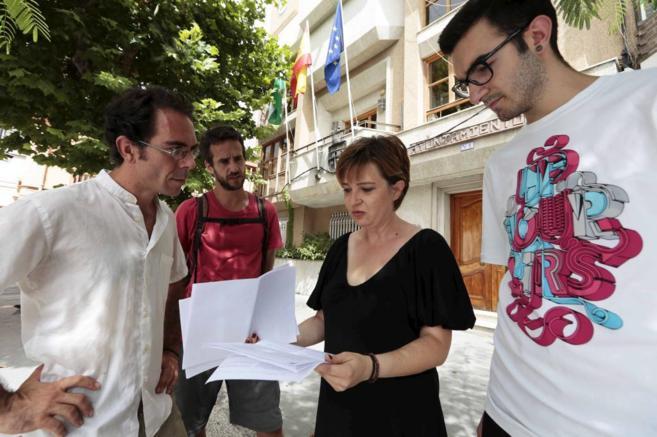 Minerva Morales, candidata de Somos Dúrcal, que espera entrar en el...