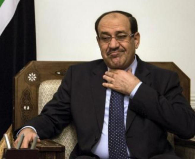 El ex primer ministro iraquí, Nuri al Maliki, en una imagen de...