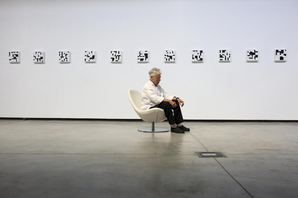Cruz Novillo en la galería DiLab.
