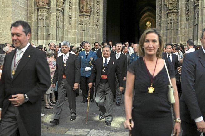 Concejales del Ayuntamiento de Sevilla (durante el mandato de Zoido)...
