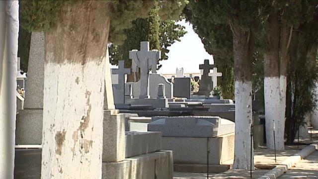 Cementerio donde se produjo el suceso.
