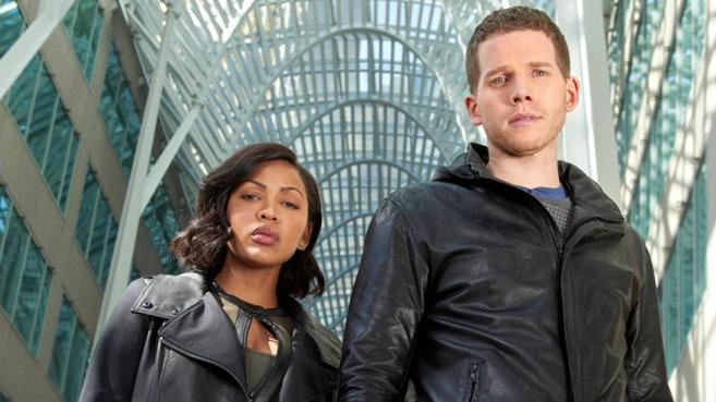 Imagen de los protagonistas de 'Minority Report'