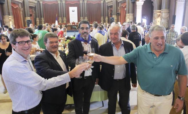 Eneko Goia, Gorka Urtaran, Juan María Aburto, Pierre Duhart y Joseba...