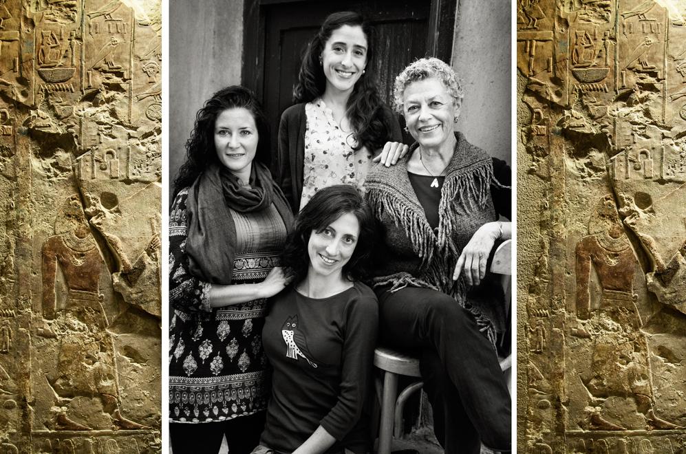 De izquierda a Derecha: Zulema Barahona, Gudelia García 8de pie),...
