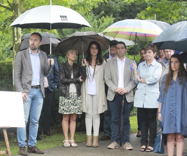 Homenaje a Jose Maria Korta en Zumaia