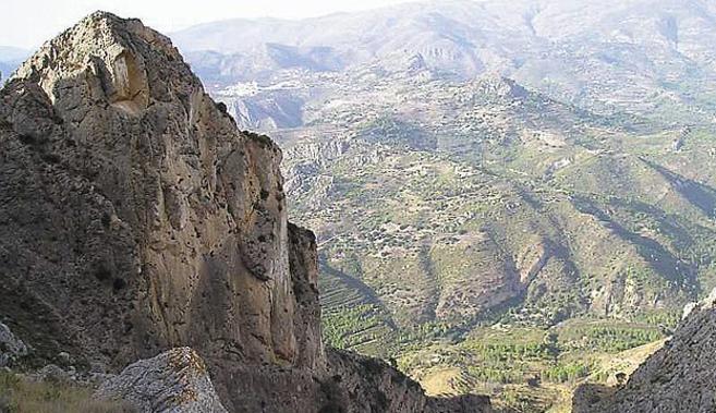 Panorámica de la Sierra de Bèrnia