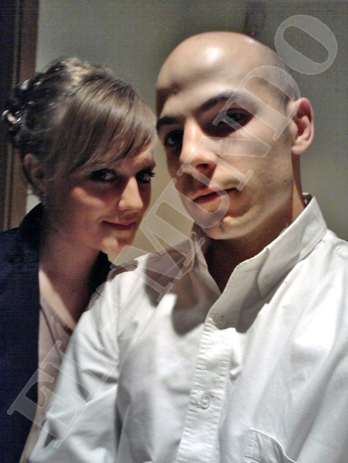 Último retrato conocido de Sergio Morate y Marina Okarynska, cuando...