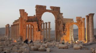 Imagen de archivo de la antigua ciudad de Palmira.