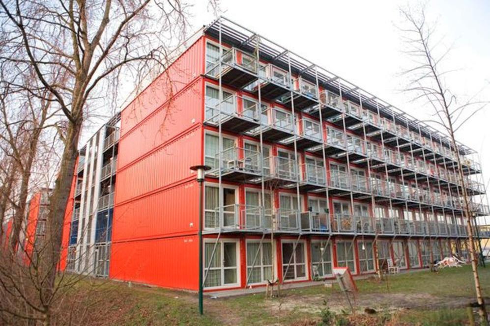 Resultat d'imatges de amsterdam vivienda container