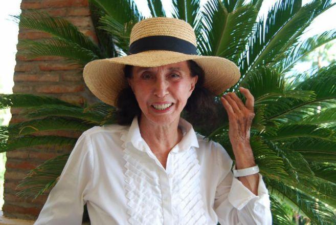 Aline, en una imagen tomada en el Hotel Río Real Golf de Marbella...