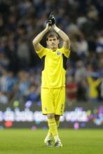 Casillas en su primer partido de la temporada con el Oporto