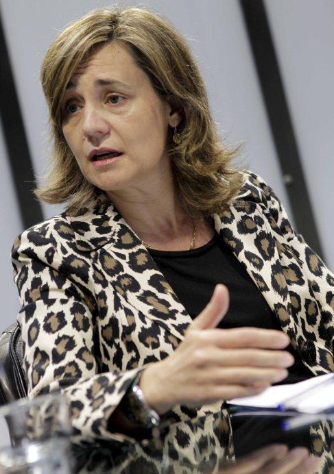La vicesecretaria general del PPCV, Elena Bastidas.