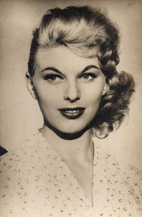 Katia Loritz, uno de los rostros más populares del cine de los 50 y...