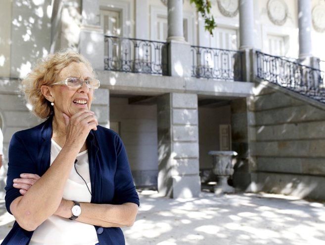 La alcaldesa, el pasado día 5 de agosto en Madrid.