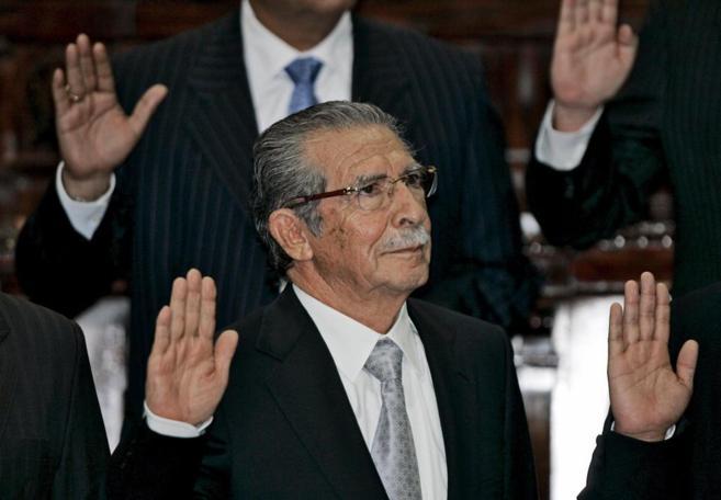 Ríos Montt fue dictador en Guatemala entre 1982 Y 1983