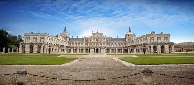 Imagen del Palacio de Aranjuez.