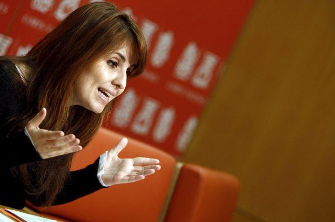 La ex diputada de EU, Esther López.