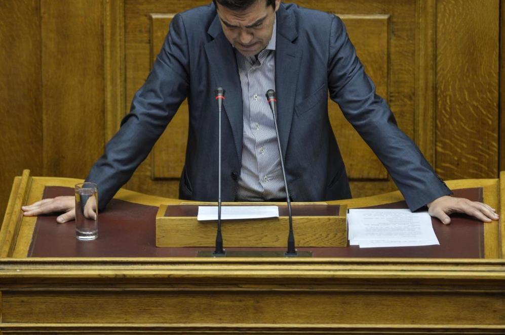 El primer ministro griego, Alexis Tsipras, en una imagen tomada el 10...
