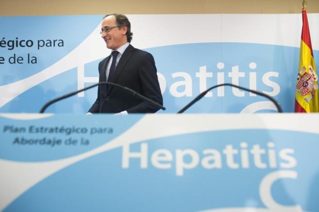 Alfonso Alonso, durante la presentación del Plan Estratégico para la...