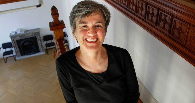 La escritora Luisa Etxenike, en los Cursos de Verano de la UPV/EHU.