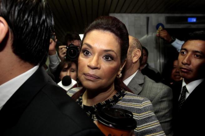 La exvicepresidenta de Guatemala, Roxana Baldetti.
