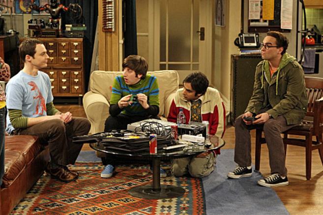 Imagen de los protagonistas de 'The Big Bang Theory'.