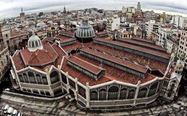 Resultado de imagen de plaza del mercado central de valencia