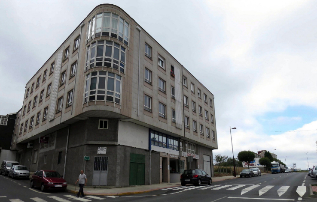 Sede de la empresa investigada en Lalín.