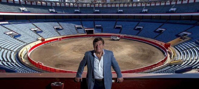 El presidente de la plaza de toros de Vista Alegre en Bilbao, Matias...